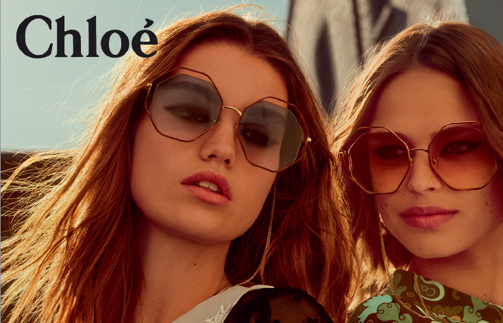 La collection printemps été Chloé à essayer à l'Atelier de l'Optique